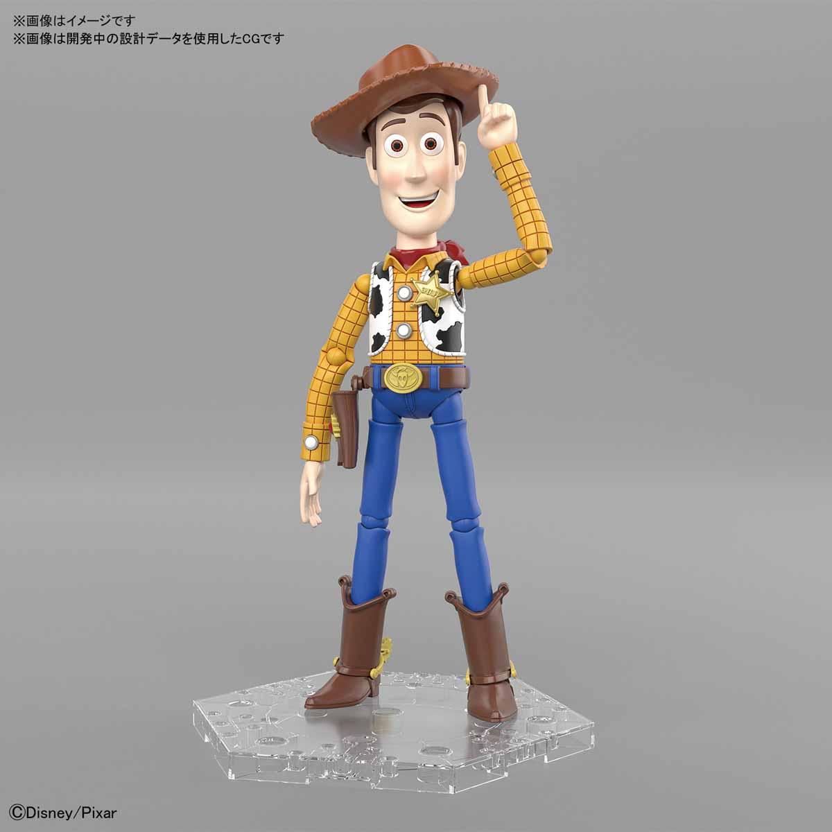 【預購】BANDAI Cinema-rise Standard 玩具總動員 胡迪 組裝模型(8月到貨)
